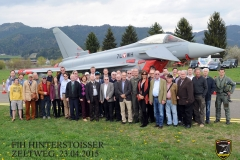 Besichtigung Eurofighter