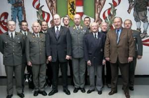 Der OGS Vorstand im Jahr 2000